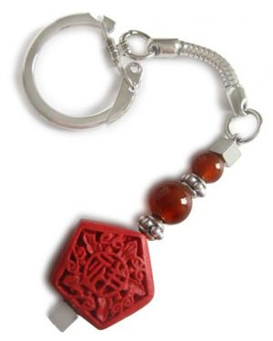 Good Luck Talisman For Evil Eye Protection Key Chain