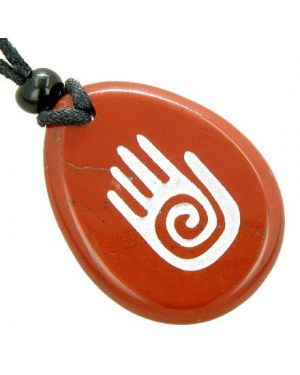 Infinity Protection Buddha Hand Amulet Believe Good Luck Necklace