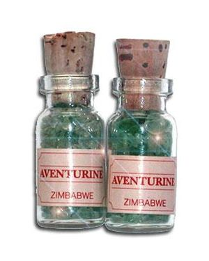 Aventurine Money Talisman Bottles