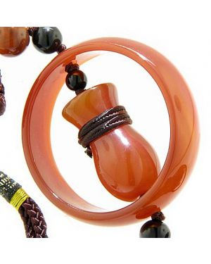 Good Luck Ingnot And Protection Talisman Carnelian Blessing