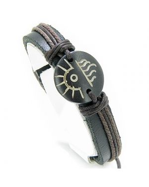 Lucky Forces Of Nature Leather And Bone Bracelet