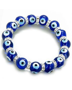 Swarovski Crystals Evil Eye Protection Bracelet