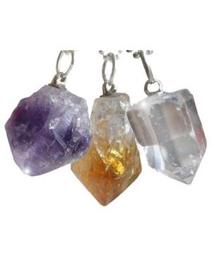 Lucky Charms Special Triple Lucky Crystal Pendants