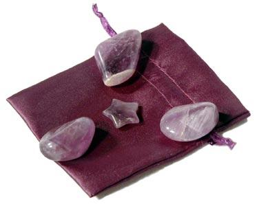 Amethyst General Protection Pouch For Baby